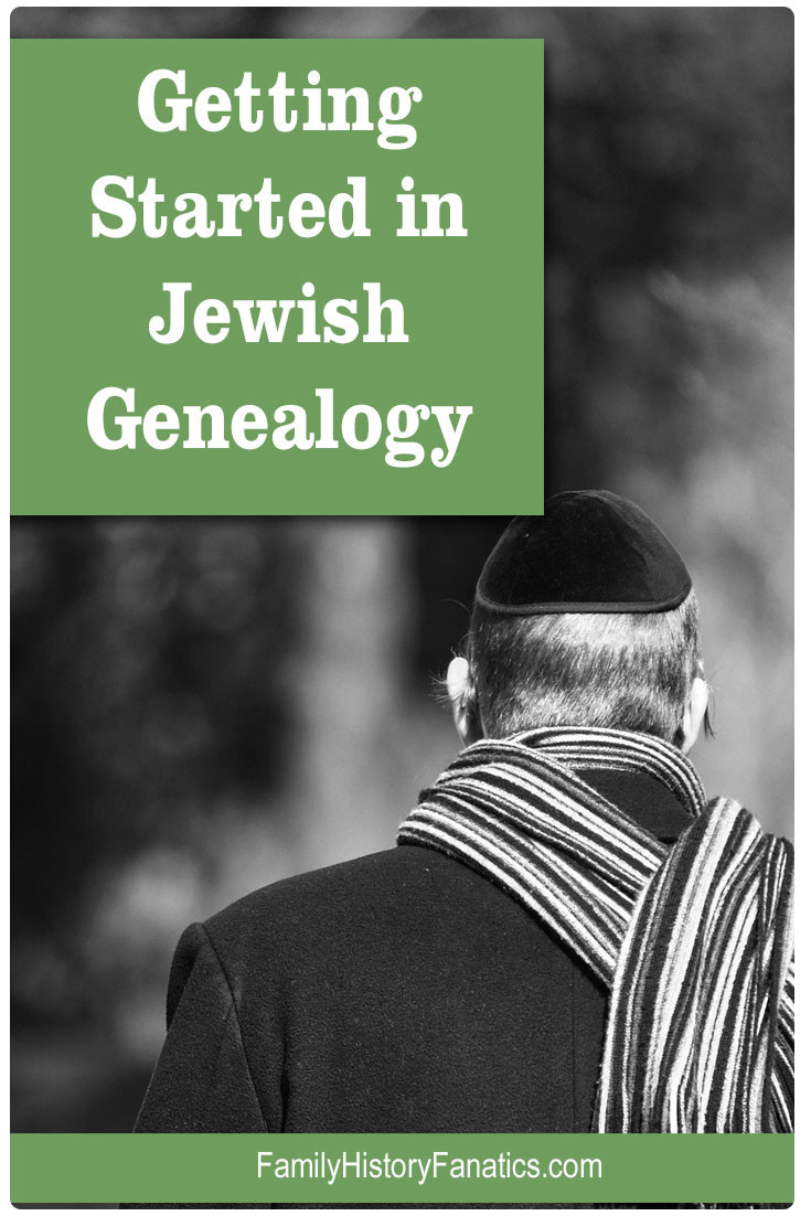 Follow these tips for getting started researching your Jewish ancestry. Five tips to help increase your chances of success. #genealogy #Jewish #methodology