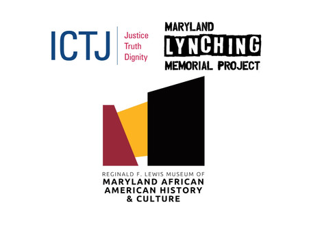 Transitional Justice and Lynching in Maryland