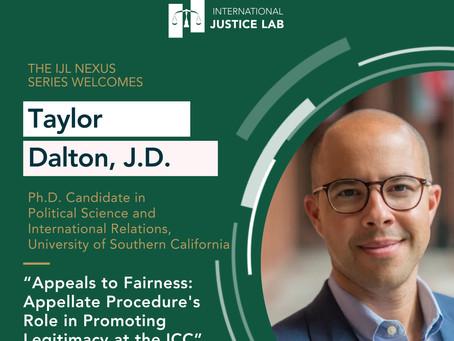 "Taylor Dalton presents: ""Appeals to Fairness"""