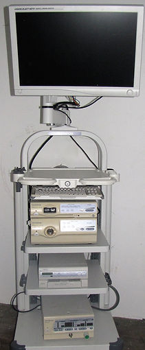 1-olympus cv-180 tower with 26in monitor
