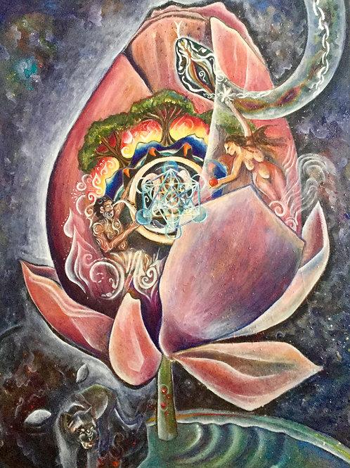"ART WORK: ""Lotus Movements"""