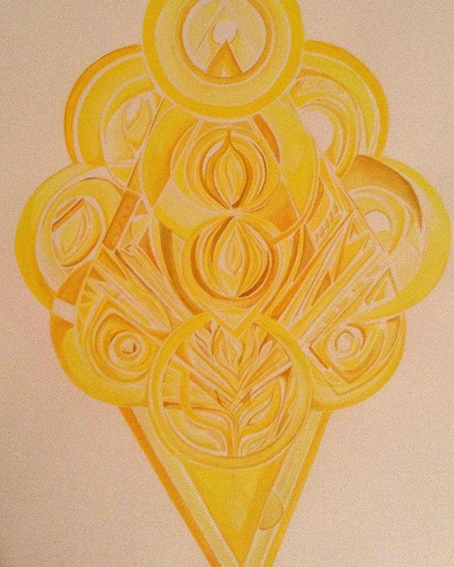 Yellow Meditation (3rd chakra)