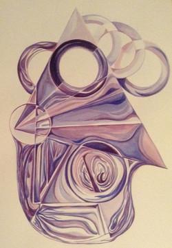 Purple Meditation (6th chakra)