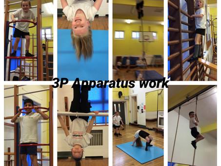 Gymnastics in year 3