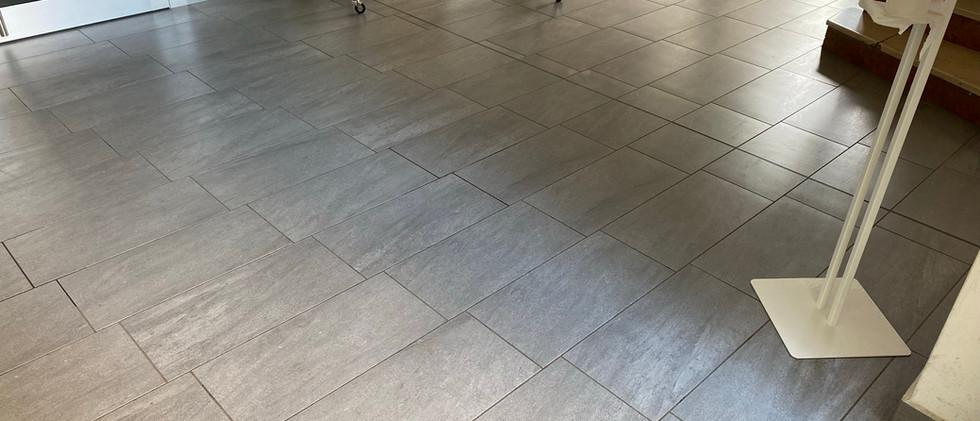 Lavaggio dei pavimenti