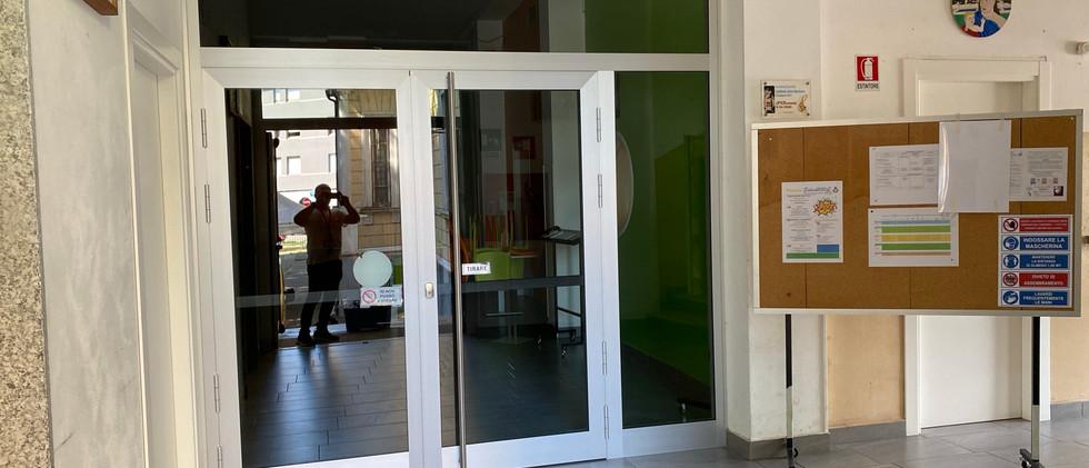 Pulizia serramenti e vetri