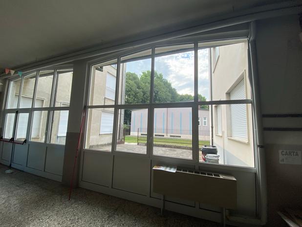 Lavaggio serramenti e vetri