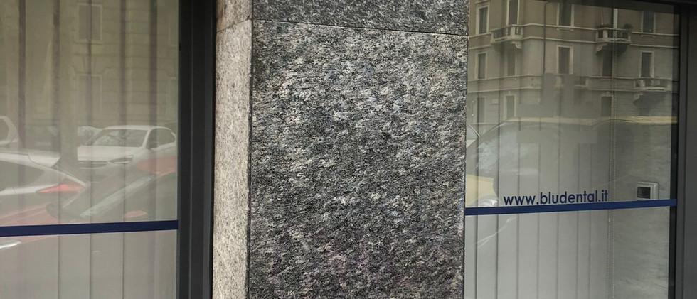 Bludental Milano graffiti eliminato