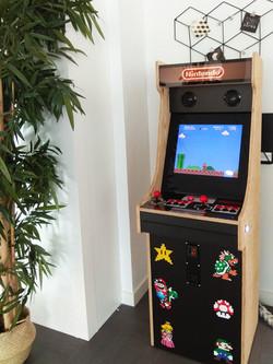 Borne Arcade classic wood pixel