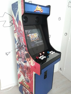 Borne arcade by Rosbeef