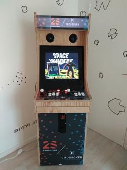 Borne arcade classic wood