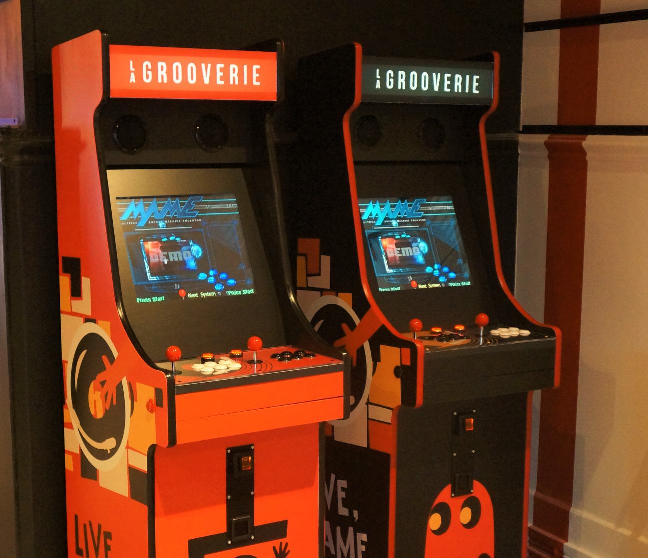 Borne arcade La Grooverie