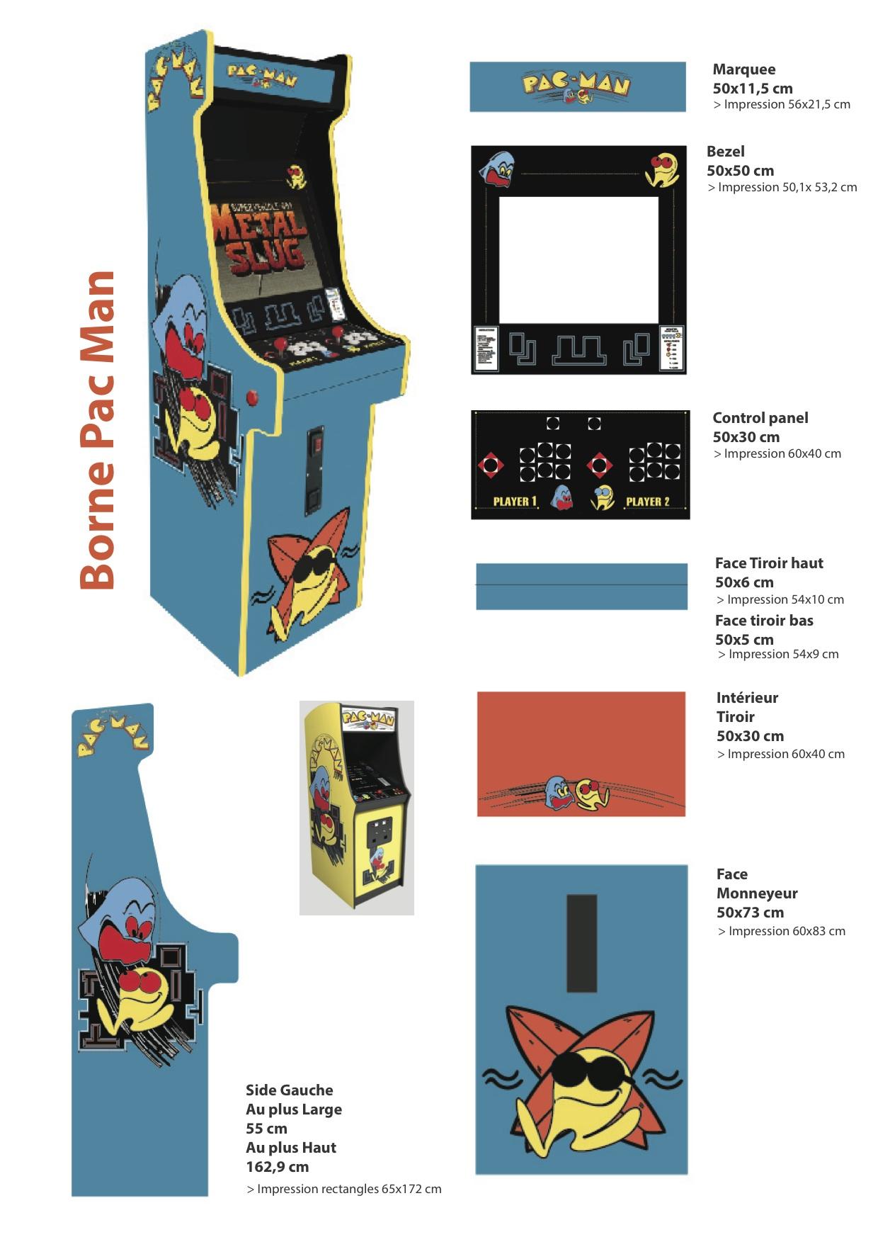 Borne arcade Pac_Man