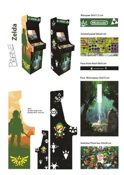 Borne arcade Zelda