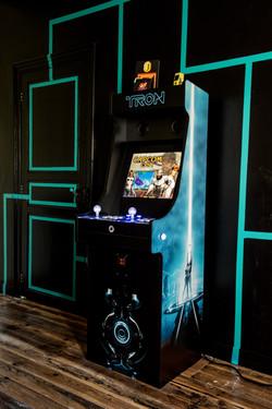Borne Arcade Tron
