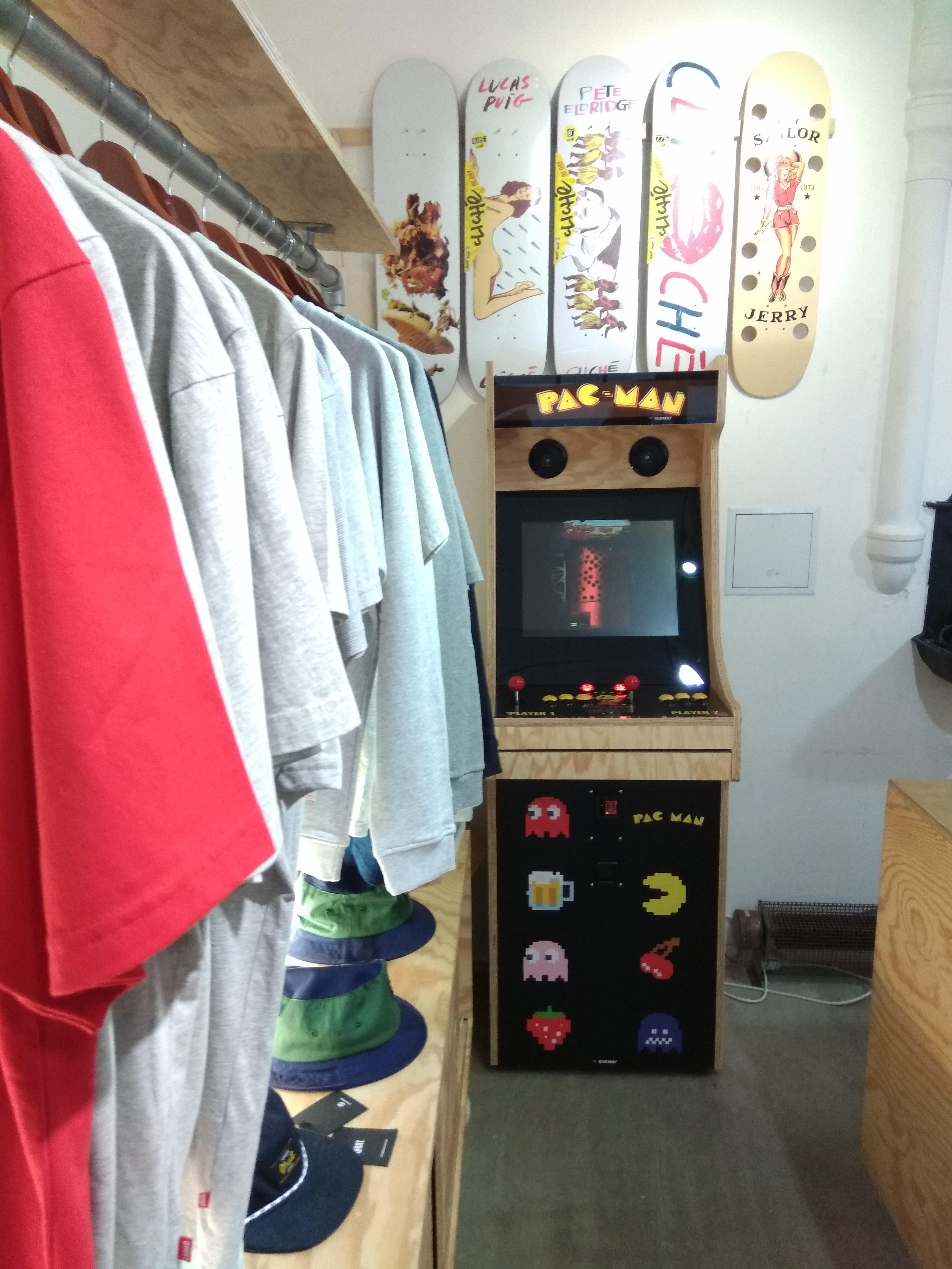 Borne d'Arcade Pac-Man