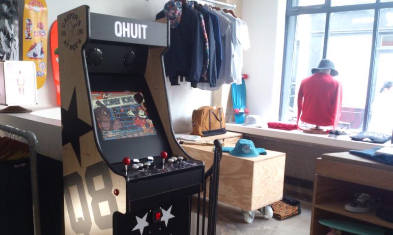 La Borne arcade QHUIT