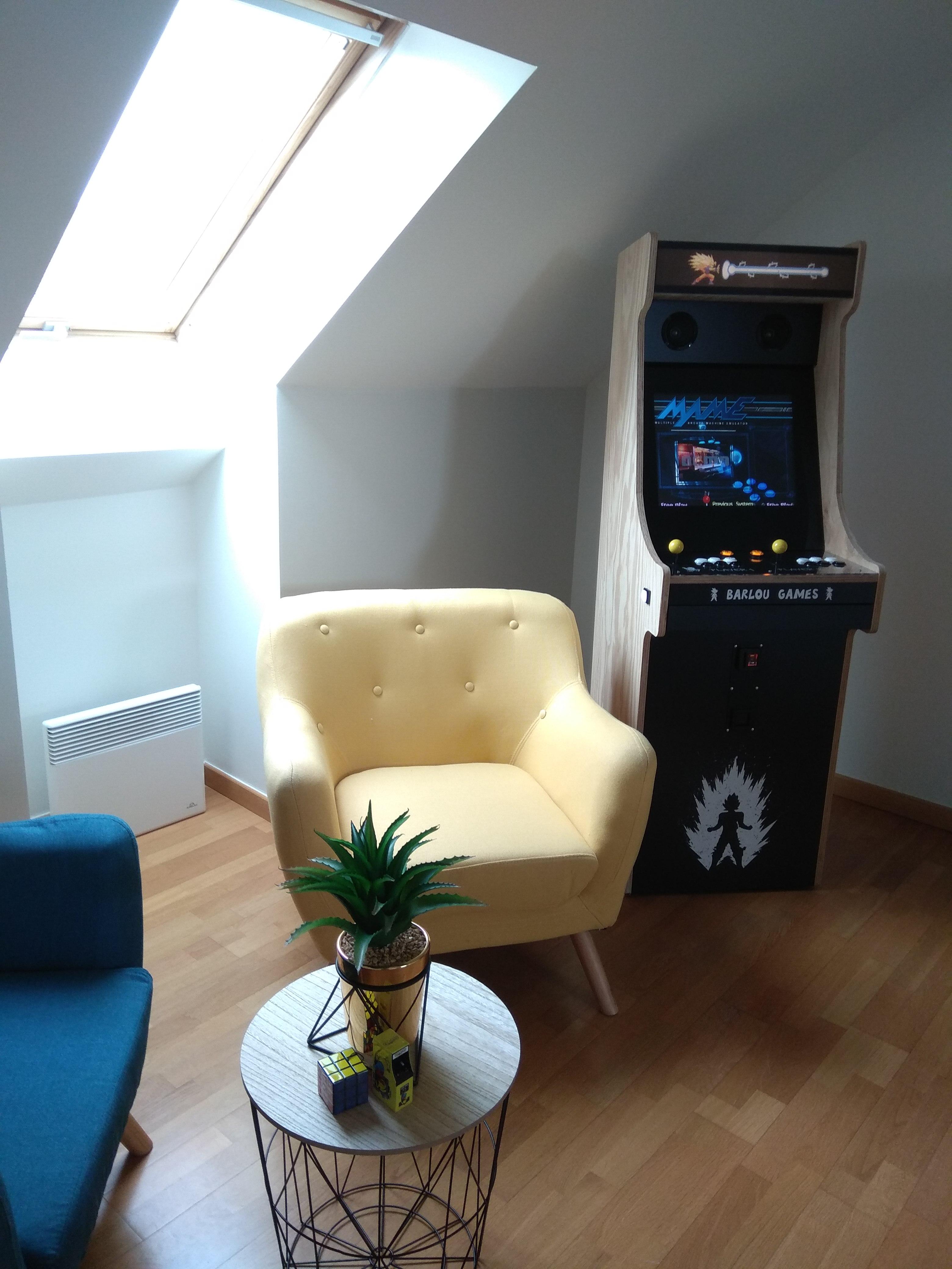 Borne Arcade DBZ