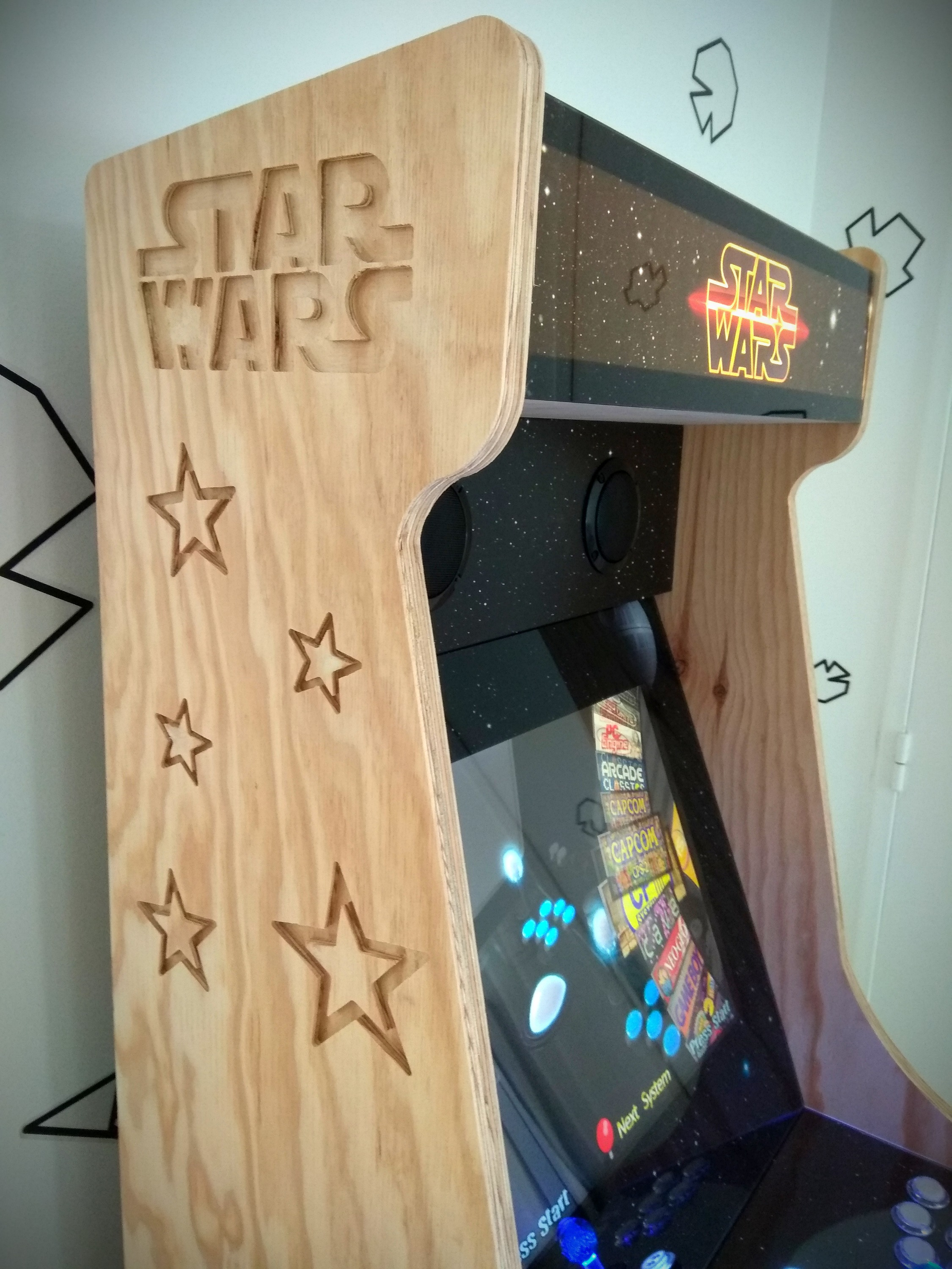 borne arcade star wars