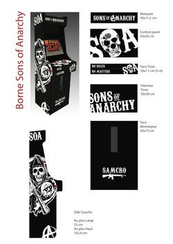 Borne arcade SOA