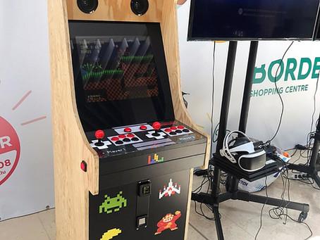 2 bornes d'arcade au Luxembourg