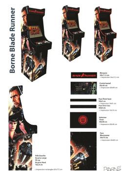 Borne arcade Avengers