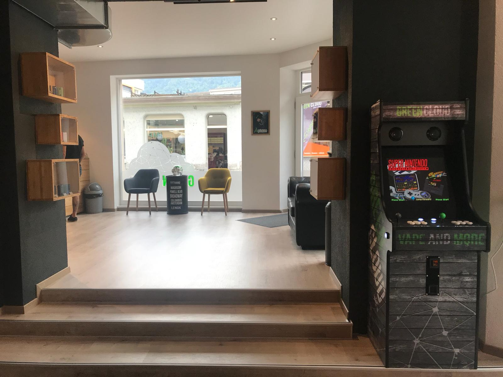 La borne arcade  Vape and lounge