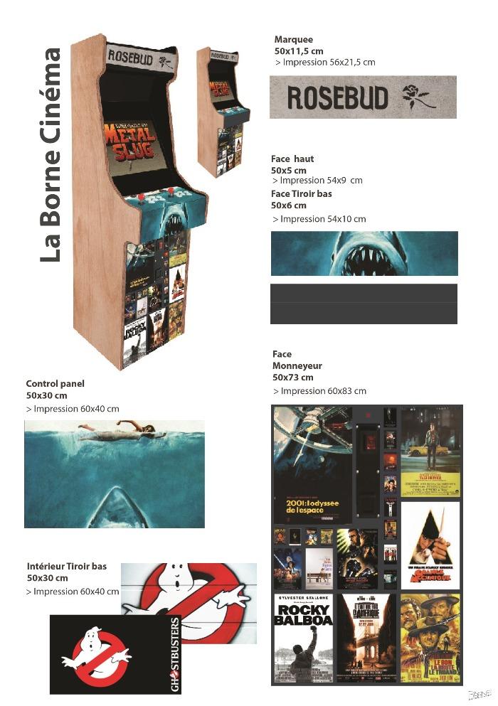 Borne arcade Movies