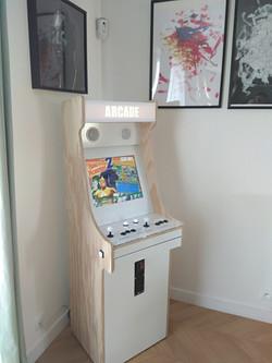 Borne Arcade White