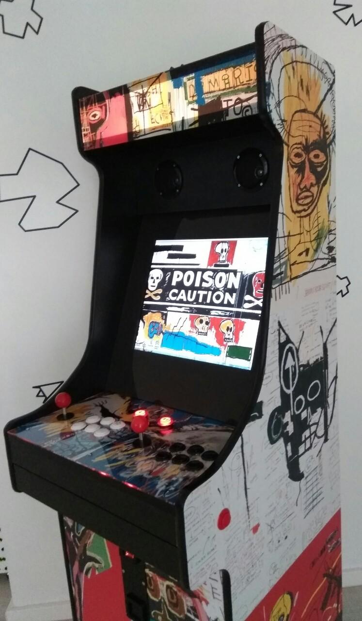 La borne arcade Basquiat