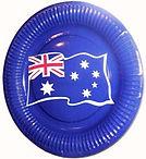 Australia Day Party Supplies | Australia Party plates