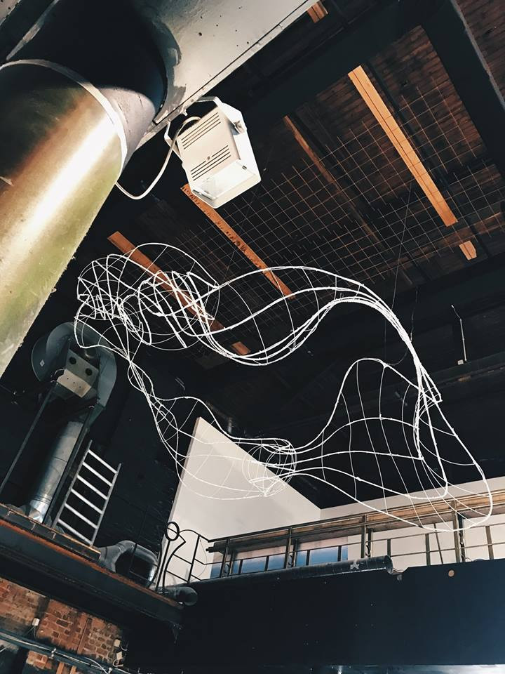 Aurora Installation for Akademy Kortrijk Belgium