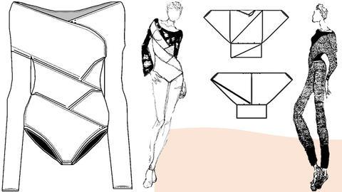 Bodysuit Illustrations