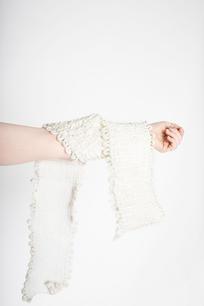 Fluffy polyester