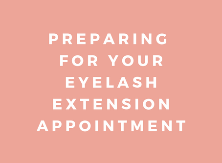 Preparing For Your Eyelash Extension Appointment