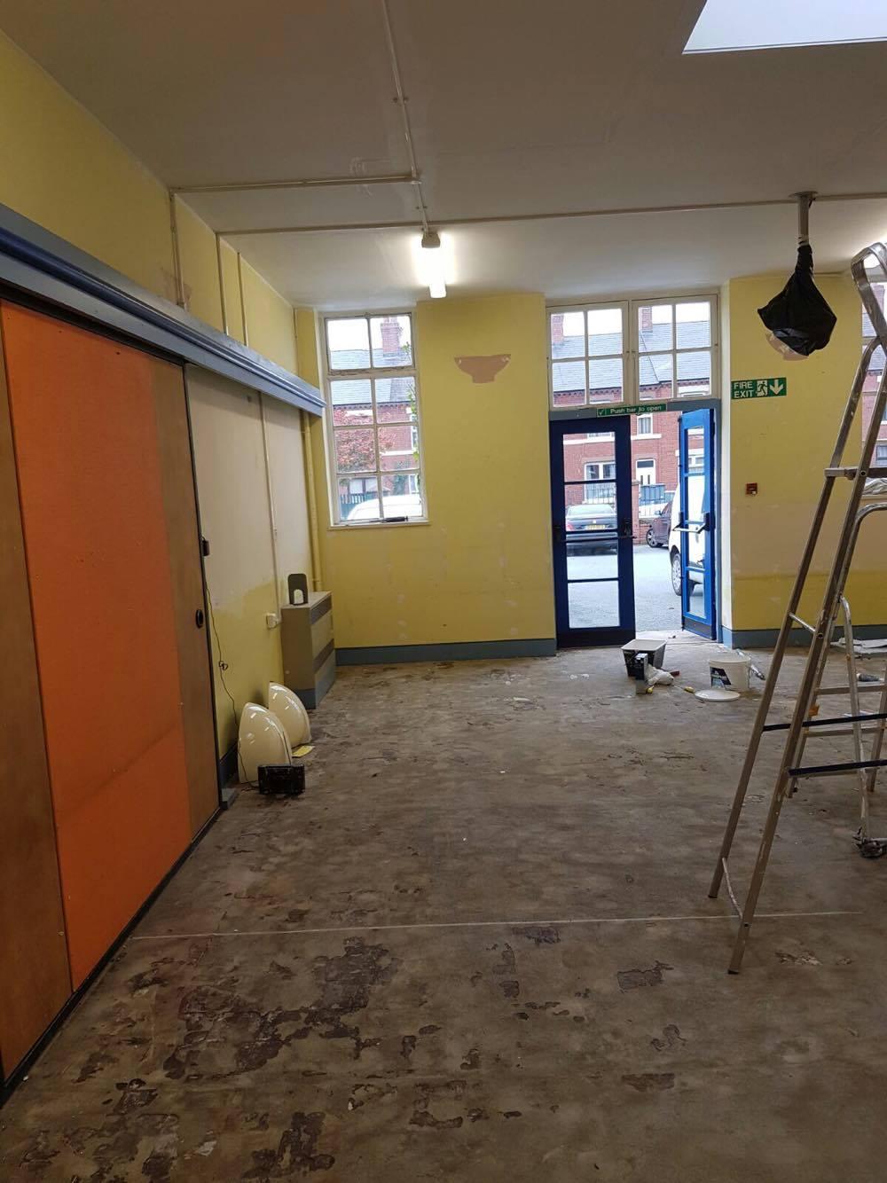 LPW Painters Decorators Wrexham school3