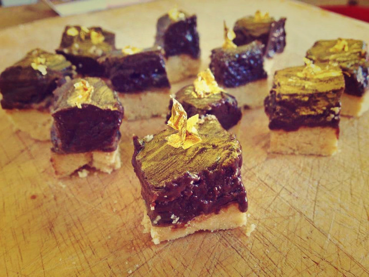 The Cheshire Dining Experience's Billionaire's Shortbread - not just a millionaire's treat