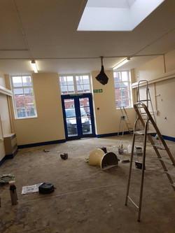 LPW Painters Decorators Wrexham school