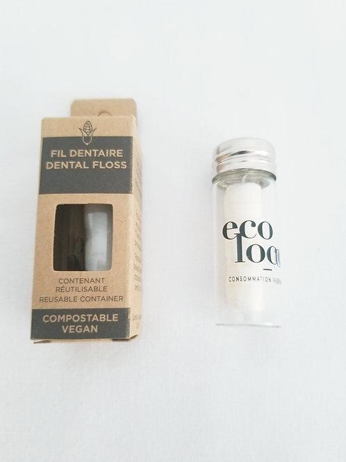 Fil dentaire écologique de Ecoloco