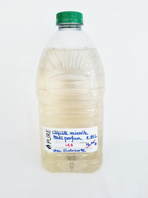 Liquide à vaisselle de Pure (SANS PARFUM)