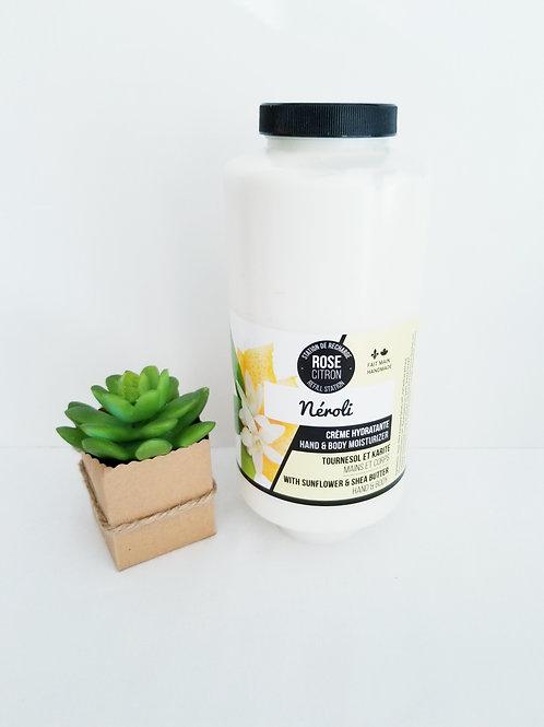 Crème hydratante Mains et corps de Rose Citron