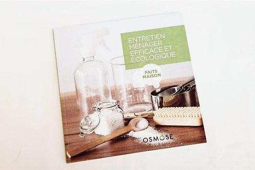 Livre Entretien ménager efficace et écologique par Osmose