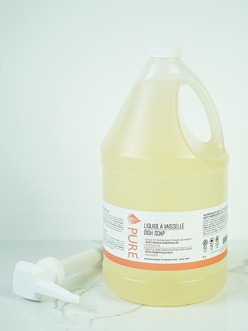Liquide à vaisselle de Pure avec pompe