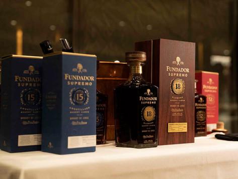 El prestigioso chef francés Romain Fornell nuevo embajador del jerezano brandy Fundador Supremo