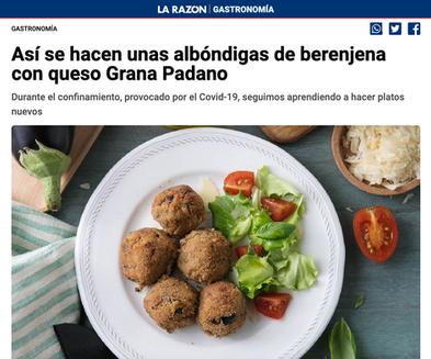 Grana Padano en La Razón