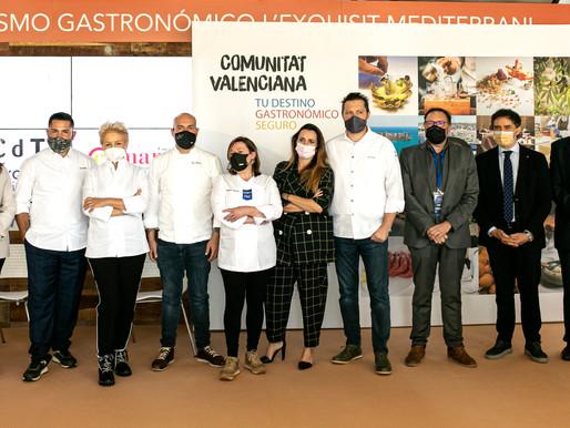La campaña 'Comunidad Valenciana: tu destino gastronómico seguro' arranca en Mediterránea Gastrónoma