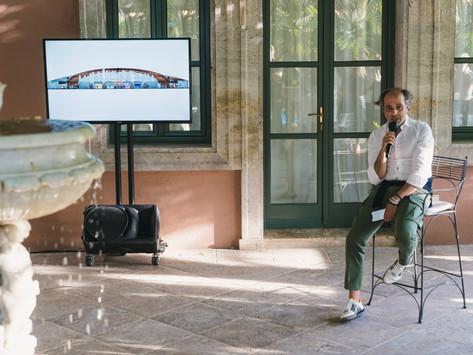 José Arroyo se consolida como director artístico de Design Week Marbella
