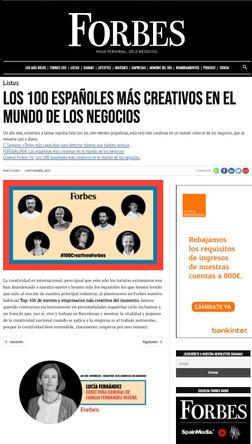 Familia Fernández Rivera en Forbes