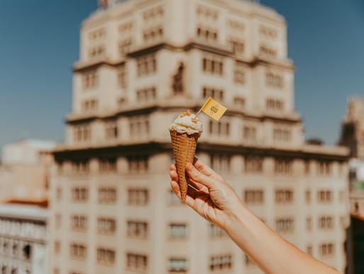 """Comienza """"La ruta del helado artesanal de queso Grana Padano"""", presente en 10 heladerías de Madrid"""