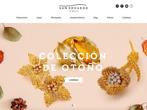 San Eduardo Jewels, la joyería insignia del barrio de Salamanca, lanza su tienda online